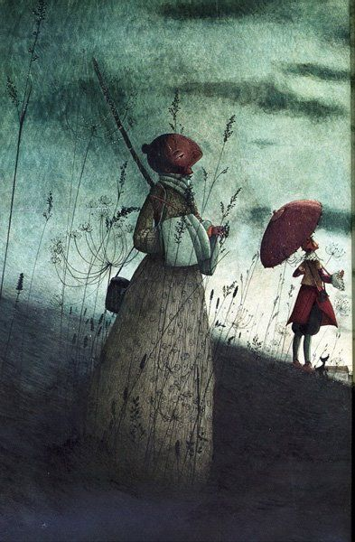 childrens book illustration,contemporary artists,French artists, graphics, illustration Rebecca Dautremer 'Cyrano'