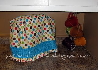 Pattern Shmattern: KitchenAid Classic Mixer Cozy Tutorial