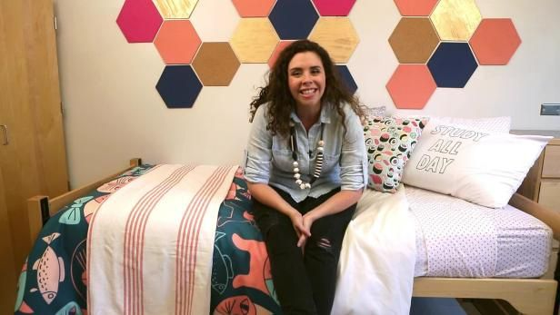 Marianne Canada shares design tips to make your bed the envy of the dorm.