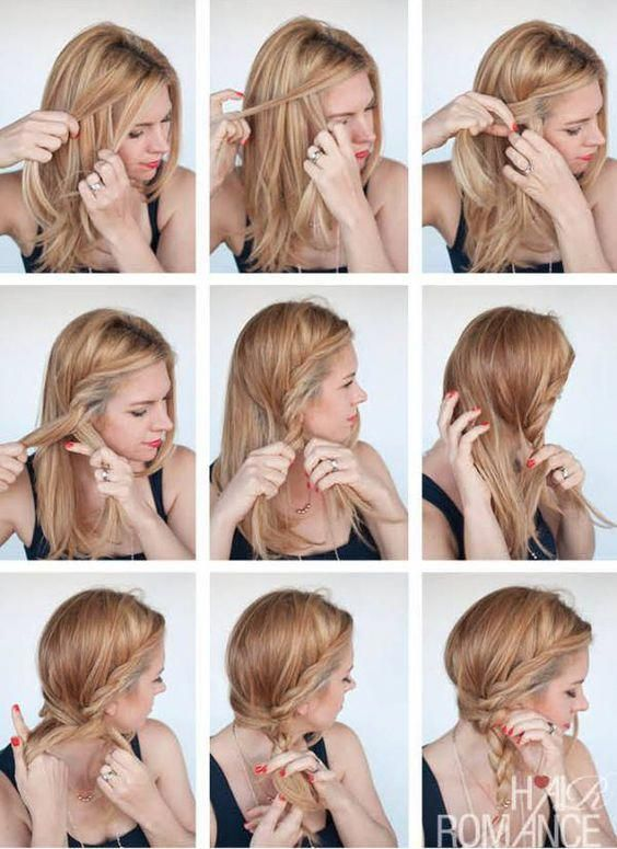 4 How To Braid Your Own Hair Schritt Fur Schritt Fur Anfanger 3