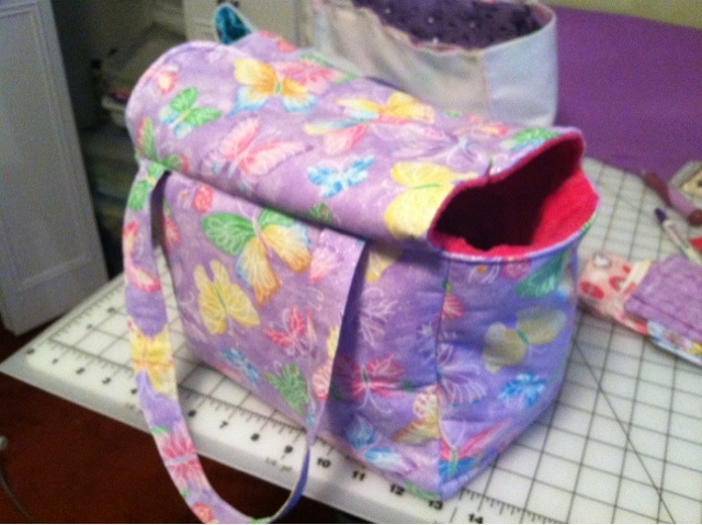 how to make your baby into a diaper bag