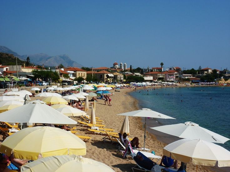Strand Stoupa