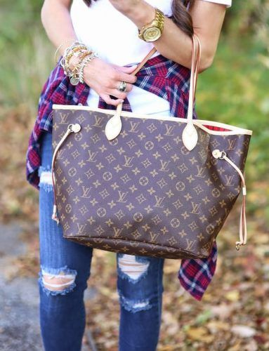 Louis Vuitton Shopper Shoulder Tote- Louis Vuitton new handbags collection http://www.justtrendygirls.com/louis-vuitton-new-handbags-collection/