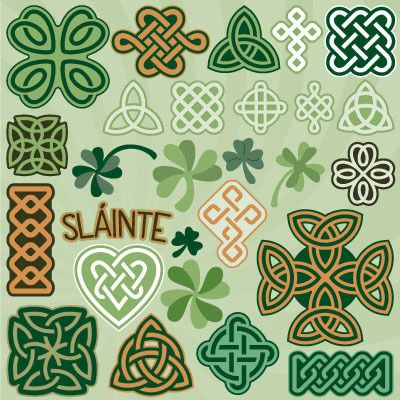 Celtic Knots and Clovers SVG Collection - $6.99 : SVG Files for Silhouette, Sizzix, Sure Cuts A Lot and Make-The-Cut - SVGCuts.com
