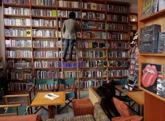 LA MACARENA, Luvina Libros, a bookstore and local hangout.