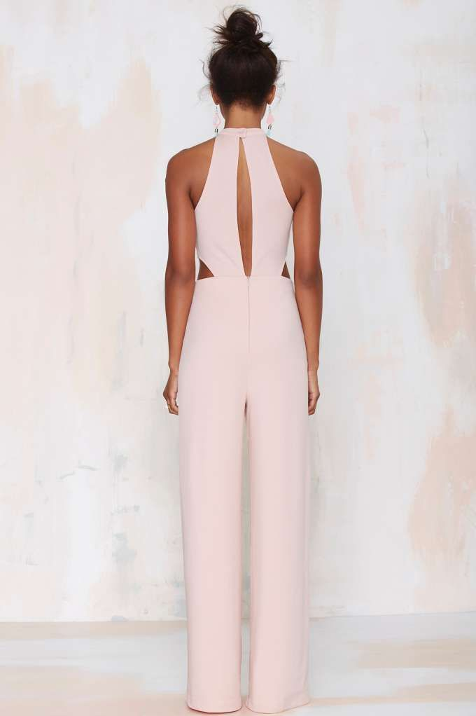 Nasty Gal Jeslina Cutout Jumpsuit - Rompers + Jumpsuits   All   Clothes