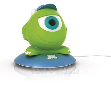 Mike Wazowski - as a child Mike has dreamed of studying on Monster University and achieving a degree in terrifying:)