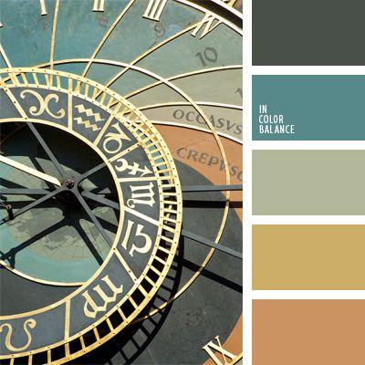 color cobre, color herrumbroso, color mostaza, color ocre, color oro, colores para la decoración, elección del color, paletas de colores para decoración, pastel, selección de colores, tonos marrones.