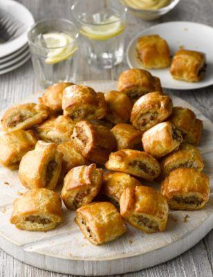 Nourish Me lunchbox sausage rolls