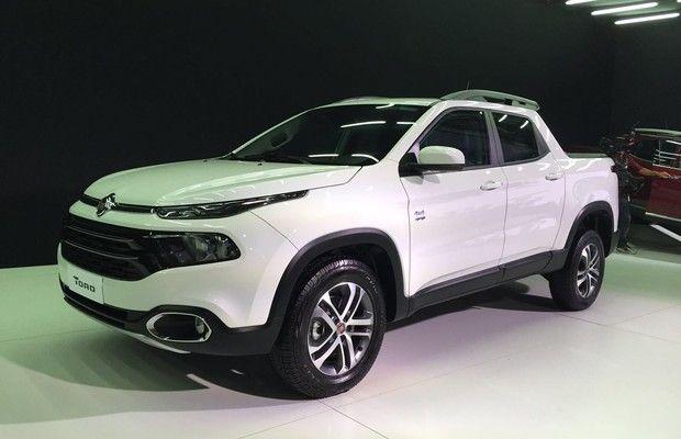 Fiat lança nova picape com motores flex e diesel, tração 4x2 e 4x4 e tampa de caçamba com abertura inovadora