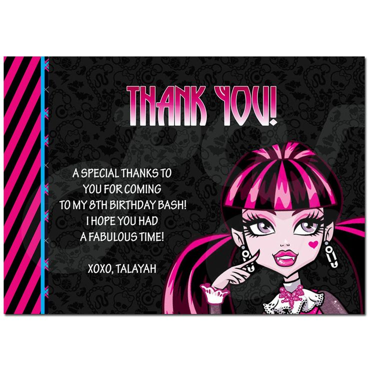 88 best Custom Invitations & Thank you cards images on Pinterest ...