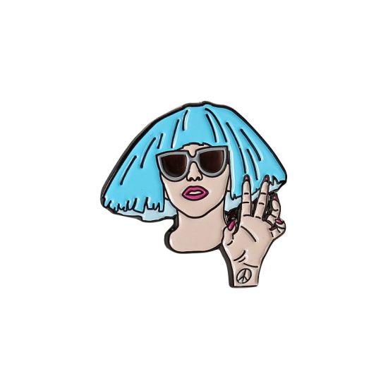 """THE ARTPOP FAME"" STEF - STAARKS │http://staarks.com/  #staarks #staarks_official #staarks #pin #pins #lapelpin #enamelpin #pincollectors #pincollection #pinstagram #softenamel #pindesign #pinbadge #gaga #ladygaga #mothermonster"