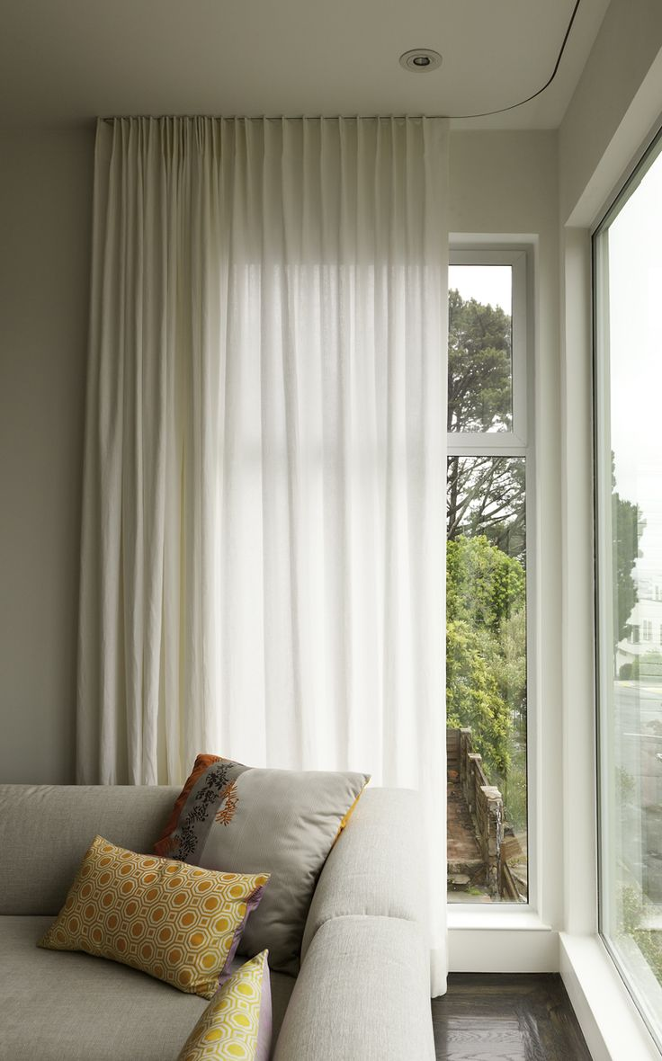 best  modern curtains ideas on pinterest  modern window  - modern curtains on recessed track  modern  window treatments  sanfrancisco  stitch custom furnishings