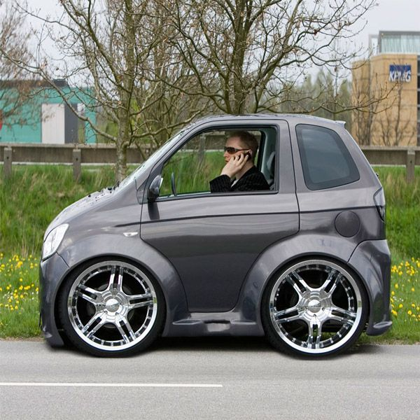 Bmw Coupe Smart Car Body Kits Micro Mini Cars Pinterest And