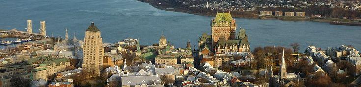 La Ville de Québec, vue de l'Observatoire (Crédit photo: Alain Laflamme)