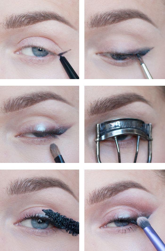 "Linda Hallberg 8/26/13 ""how to do a smoky eyeliner"" | Smokey eyeliner,  Cheap makeup brushes set, Affordable makeup brushes"