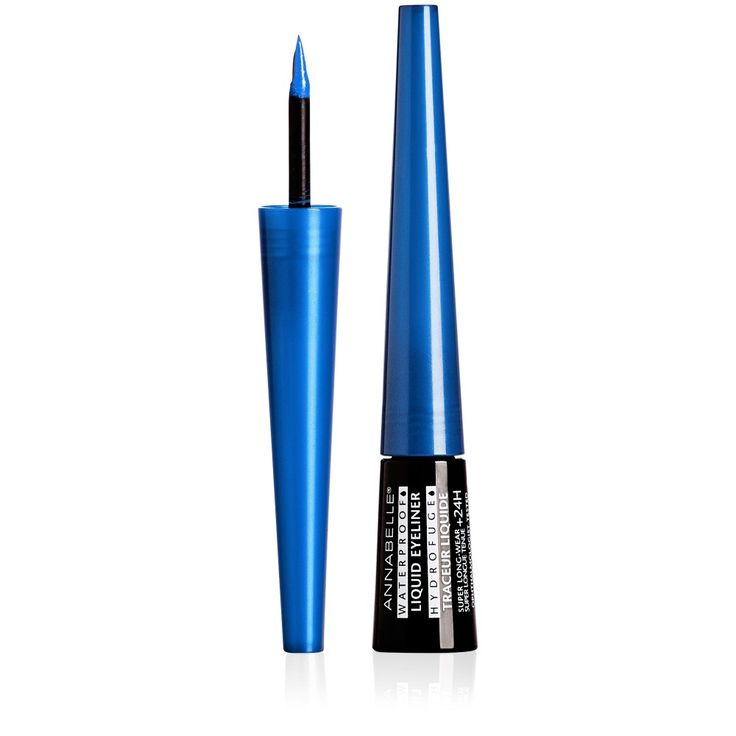 NEW! Waterproof Liquid Eyeliner - Avail. in 3 bold hues : Blue Spark, Bronze & Black Star