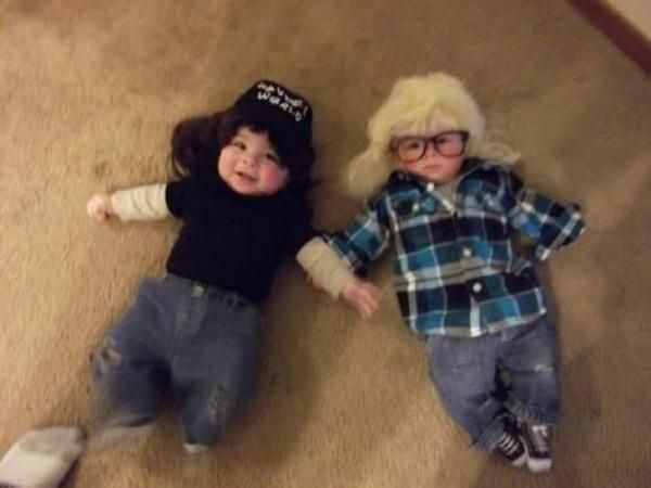 Excellent. Almost worth having kids just to dress them like this. Every day.