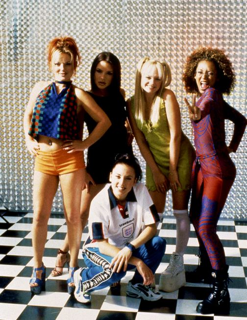 Best pop group from the 90's, my favorite song by them is Wannabe.