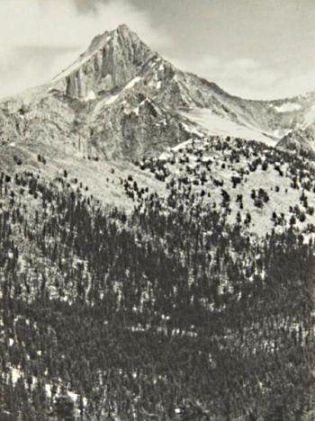 Ansel Adams, Mount Clarence King