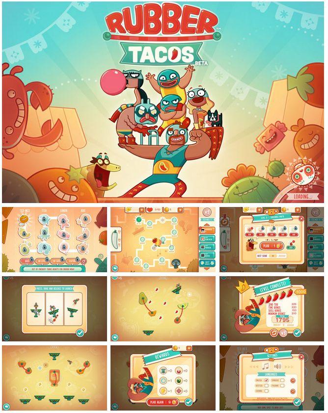 rubber tacos/ cute!!  : D