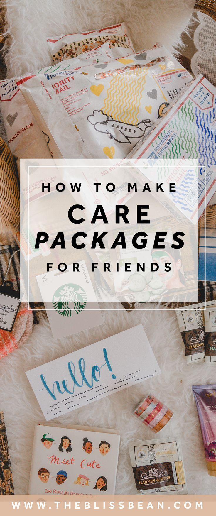 [VIDEO] How to Make Care Packages for Your Friends in 2020