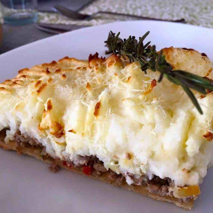 Pastel de papas con base de tarta   Recetas de Cocina Argentina