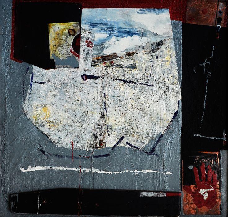 Alejandro Cáceres - Rastros del Silencio - Óleo, esmalte, cobre y madera