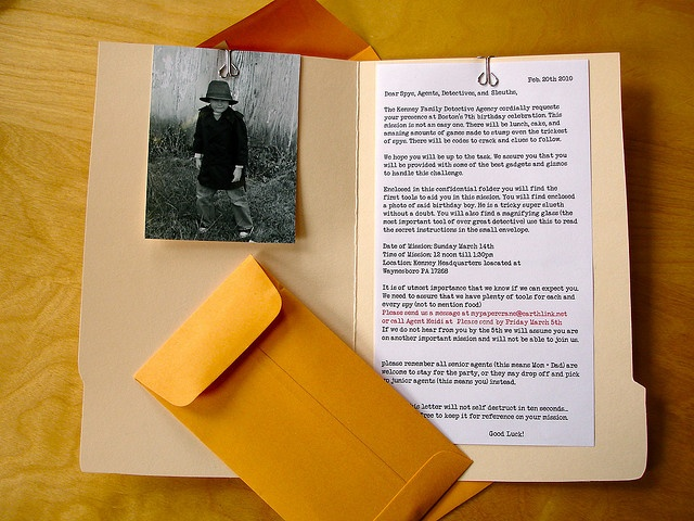 17 Best images about Detective Spy Secret Agent Party Ideas on – Spy Party Invitations
