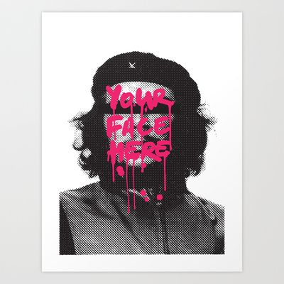 You can be famous too Art Print by Budi Satria Kwan - $19.97
