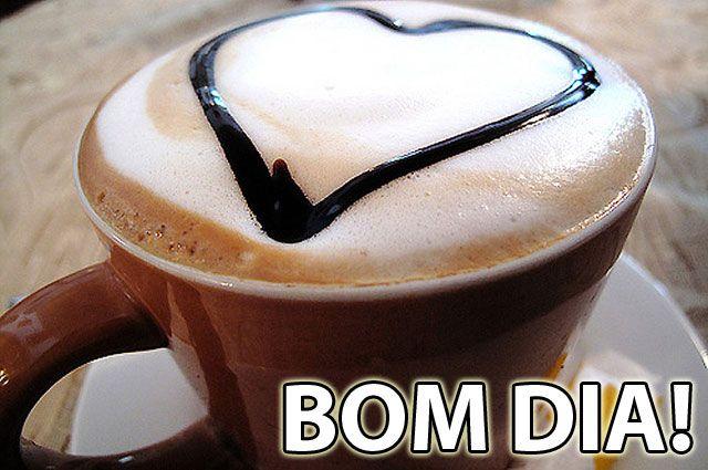 Frase Com Imagem Bom Dia, Coração!