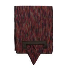 FRECCIA 203 - Scarf with leather loop