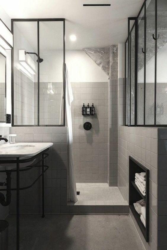 77 best SALLE DE BAIN images on Pinterest Bathroom, Bathrooms and - brico depot faience salle de bain