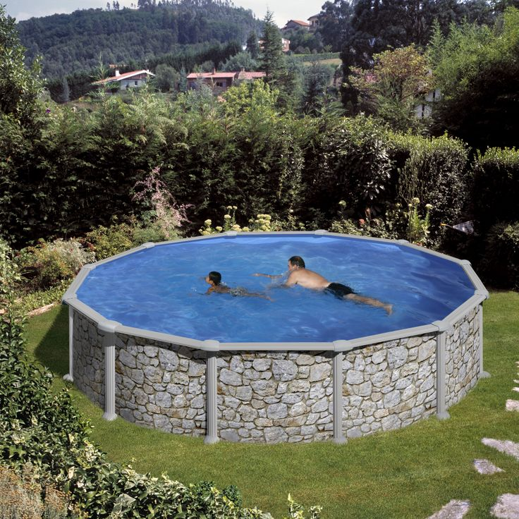 17 best ideas about piscine hors sol acier on pinterest for Piscine hors sol 4 57x1 22 m