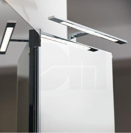 Φωτιστικό τοίχου για καθρέπτη, τεχνολογίας LED, κατανάλωσης 6W, με σώμα από αλουμίνιο σε χρώμιο χρώμα και γυαλί σατινέ λευκό. IMENE από την Eglo. -------------------------- Wall lamp, ideal for mirror in the bathroom, LED technology, consumption 6W, aluminum body in chrome color and satin white glass. #bathroom #bathroomdesign #bathroomideas #bathroomgoals #bathroomlighting #lamp #mirror #makeup #makeuptips #ledlights #ledlighting #led