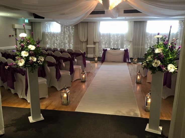 Purple wedding #cadburyspurple #lythamevents #lythamweddings #northwestweddings #weddingflowers www.thelythamweddingcompany.co.uk