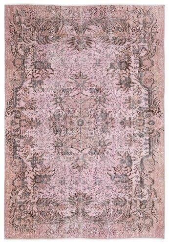 Vintage vloerkleed, roze, 243cm x 166cm