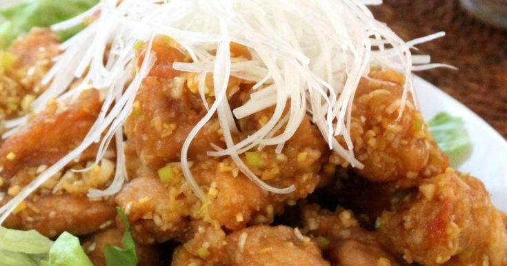 カリカリ&ジューシー油淋鶏 鶏の唐揚げ by りょーーーこ [クックパッド] 簡単おいしいみんなのレシピが248万品
