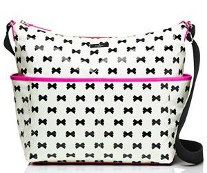 Best Designer Diaper Bags: Kate Spade Daycation Serena Baby  Bow  -Reviews by OhanaMom.com