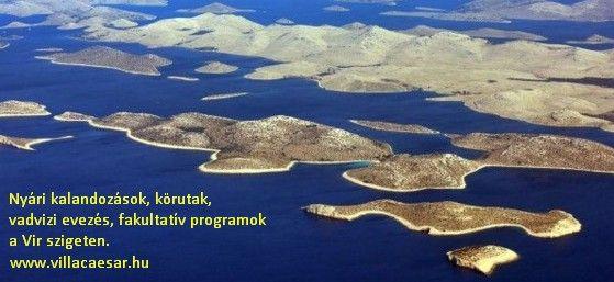 Töltse el hasznosan és a sportos életmódot követve nyári szabadságát a Vir szigeten. ##vir #sziget #programok