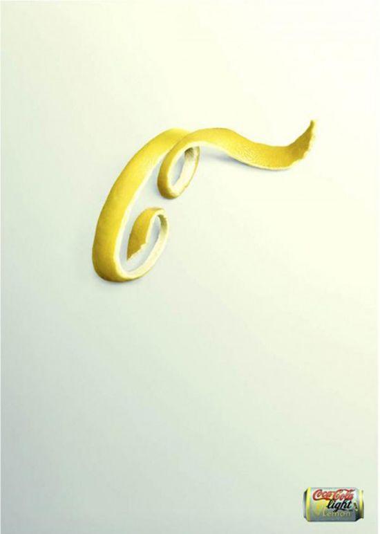 Coke print ad