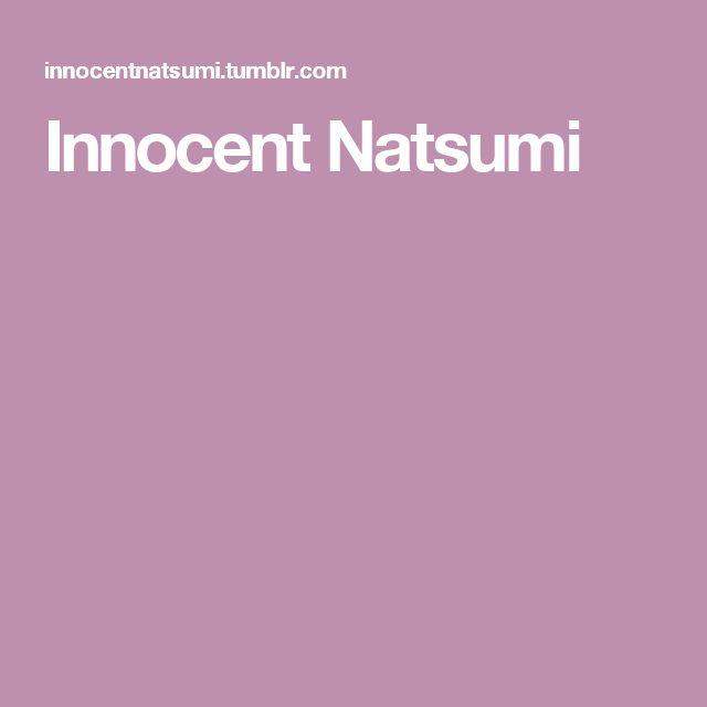 Innocent Natsumi
