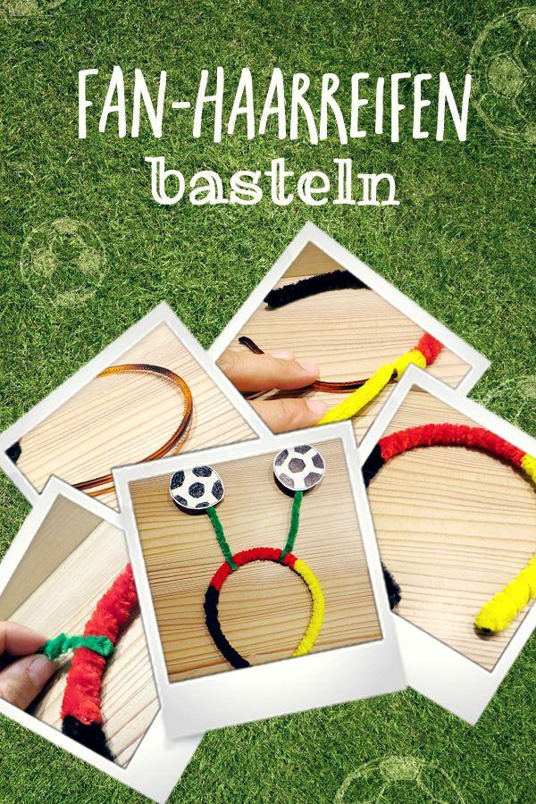Fußball-Bastelei: Antennen-Haarreifen – ewa schuechti