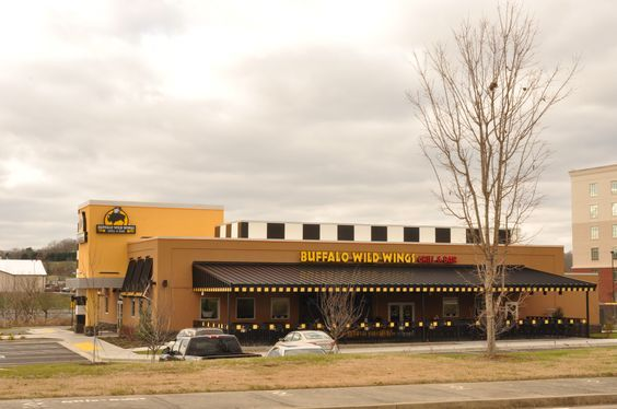 Buffalo Wild Wings offers a sports bar with hand-spun wings, a range of cold beer and wall-to-wall live sports