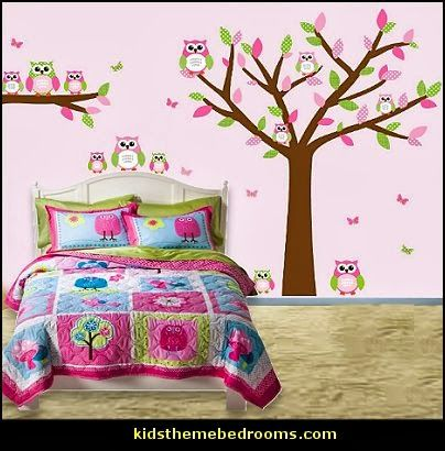 owl decor for bedroom owl theme bedroom decorating ideas owl wall decals 16584