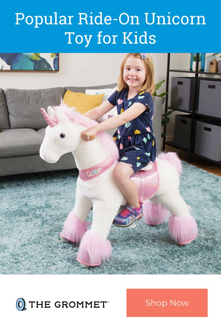 Popular Ride-On Unicorn Toy for Kids