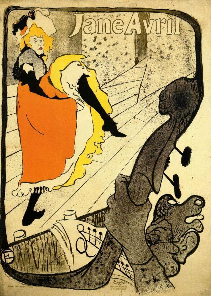 Henri de Toulouse Lautrec, otro Monstruo del Art Nouveau