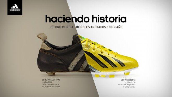 Messi Muller botines adidas