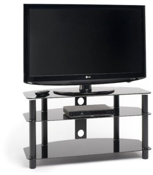 "Black Glass TV Stand Up To 60"" Corner Living Room Furniture Storage Media Unit		  Take  this Budget Offer. At Luxury Home Brands WE always Find Great Stuff for you :)"