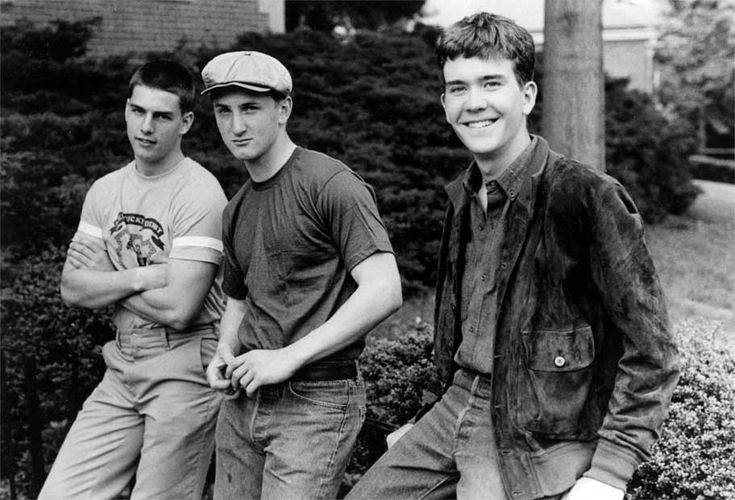 Tom Cruise, Sean Penn and Timothy Hutton | Rare and beautiful celebrity photos